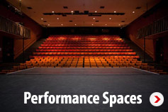 View our performance spaces for hire