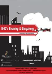 1940'S EVENING AND SINGALONG