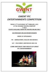 Gwent  Young Farmers Entertainments Competition